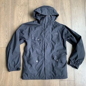 The North Face All Weather Black Utility Parka